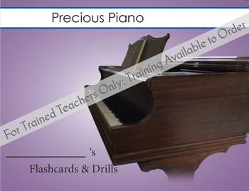 Precious Piano - Flashcards & Drills