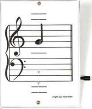 Precious Piano - Wright-Way Note Finder