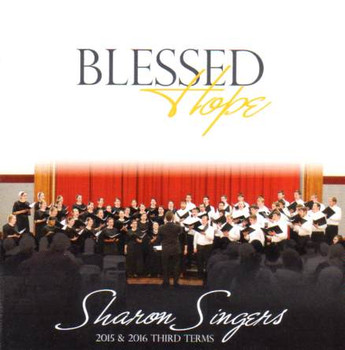 Blessed Hope CD by Sharon Singers