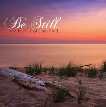 Be Still And Know - Wall Plaque by Heartwood Hollow