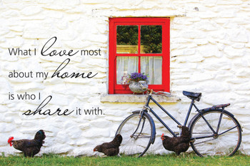 My Home - Wall Plaque by Heartwood Hollow