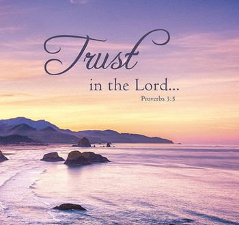Trust in the Lord - Wall Plaque by Heartwood Hollow