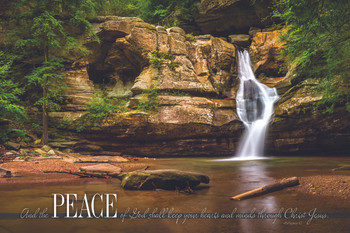Peace - Wall Plaque by Heartwood Hollow