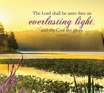 Everlasting Light - Wall Plaque by Heartwood Hollow