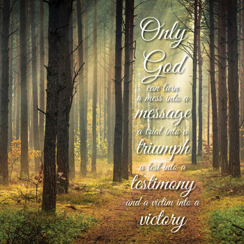 Only God - Wall Plaque by Heartwood Hollow