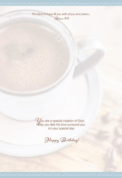 KJV Boxed Cards - Birthday, Coffee & Friends by Heartwarming Thought