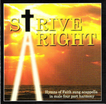 Strive Aright CD by Apostolic Christian Men's Sing
