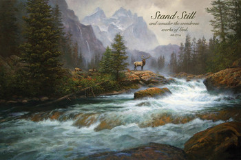 Stand Still - Wall Plaque by Heartwood Hollow