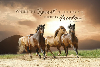 Spirit of the Lord - Wall Plaque by Heartwood Hollow
