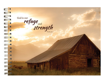 Refuge & Strength - Journal, Stationery, & Magnetic List by Heartwarming Thoughts