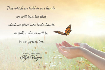 That Which We Hold - (In Loving Memory of - Personalized) - Wall Plaque by Heartwood Hollow