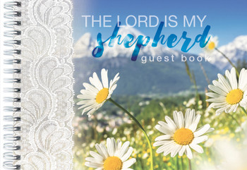 Guest Book - The Lord is my Shepherd