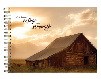Refuge & Strength - Journal - by Heartwarming Thoughts