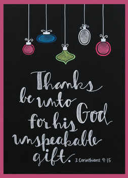 KJV Boxed Cards - Christmas, God's Praise by Heartwarming Thought