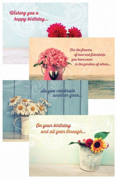 KJV Boxed Cards - Birthday, Celebration