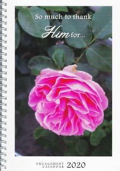 Weekly Planner 2020 Calendar with KJV Scripture