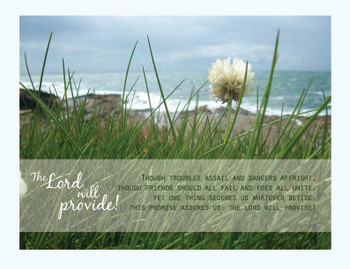 The Lord Will Provide - Wall Canvas by Prints of Peace
