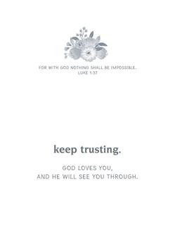 KJV Boxed Cards - Encouragement, Hope in God's Promises