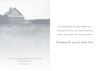 KJV Boxed Cards - Sympathy, To Comfort you