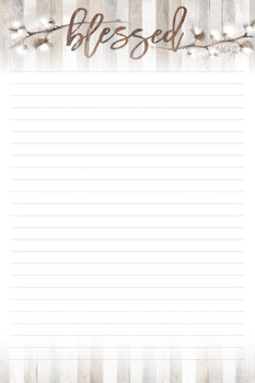 Cotton - Stationery Pad - by Heartwarming Thoughts