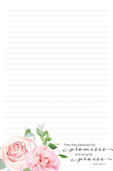 Promises - Stationery Pad - by Heartwarming Thoughts