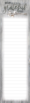 Cotton - Magnetic List Pad - by Heartwarming Thoughts