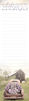 Simply Country - Magnetic List Pad - by Heartwarming Thoughts