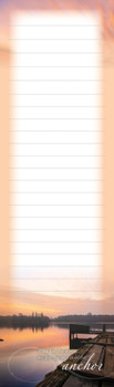 Light at the River - Magnetic List Pad - by Heartwarming Thoughts