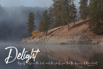 Delight - Wall Plaque by Heartwood Hollow