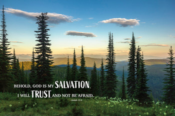 Salvation & Trust - Wall Plaque by Heartwood Hollow