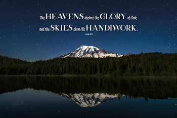 The Heavens - Wall Plaque by Heartwood Hollow