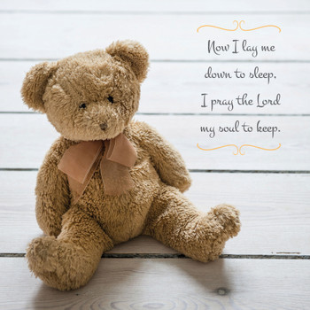 Teddy Bear - Wall Plaque by Heartwood Hollow