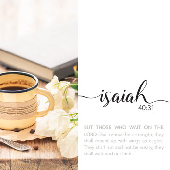 Isaiah 40:31 - Wall Plaque by Heartwood Hollow