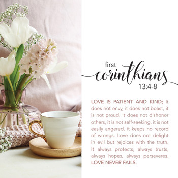 1 Corinthians 13- Wall Plaque by Heartwood Hollow
