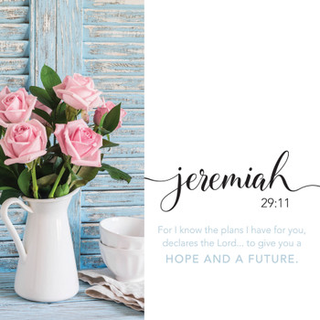 Jeremiah 29:11 - Wall Plaque by Heartwood Hollow