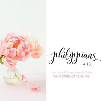 Philippians 4:13 - Wall Plaque by Heartwood Hollow