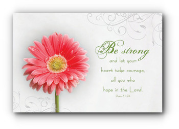 Be Strong - Wall Plaque by Heartwood Hollow
