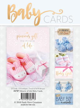 KJV Boxed Cards - Miracle of Life - Baby Cards