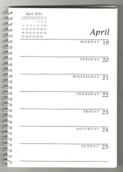 Weekly Planner 2021 Calendar with KJV Scripture