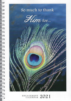 Weekly Planner 2021 Calendar with KJV Scripture