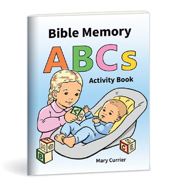 Bible Memory ABC's Activity book