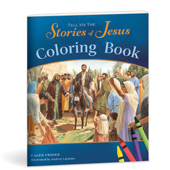 Tell Me the Stories of Jesus - coloring book