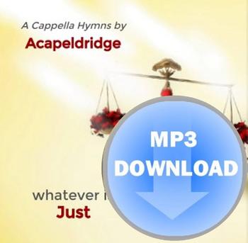 Whatever Is Just MP3 by Acapeldridge (Michael Eldridge)