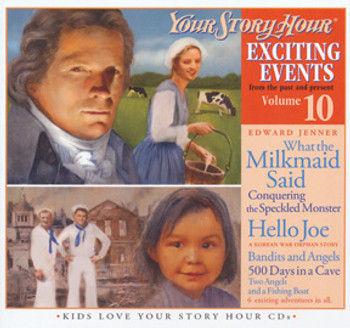 Exciting Events Vol 10 Audio CDs by Your Story Hour