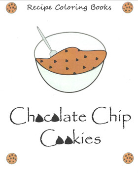 Chocolate Chip Cookies - Recipe Coloring Book