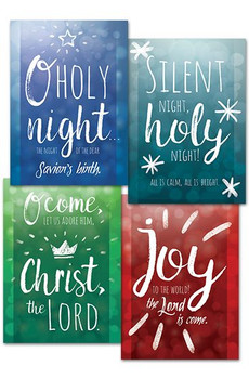 KJV Boxed Cards - Christmas, Let Us Adore Him