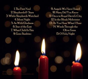 A Heartfelt Christmas CD by Carolyn Virkler