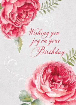 KJV Boxed Cards - Birthday, Roses by Heartwarming Thought