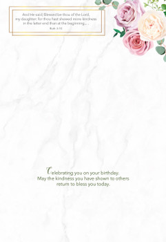 KJV Boxed Cards - Birthday, Daughters of the King by Heartwarming Thought