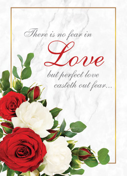 KJV Boxed Cards - Wedding, Love in Bloom by Heartwarming Thought
